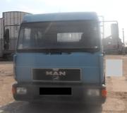 Продаем бортовой автомобиль MAN 8.163 LLC,  г/п 5, 2 тонны,  2000 г.в.