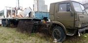 Продаем седельный тягач КАМАЗ 5410 с бортовым полуприцепом,  1989 г.в.